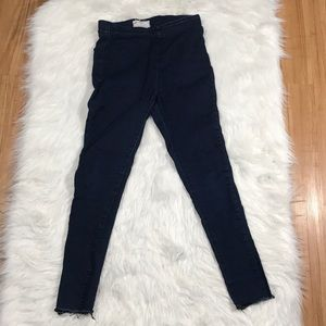 FREE PEOPLE pull on jeggings high rise sz 27 27x26